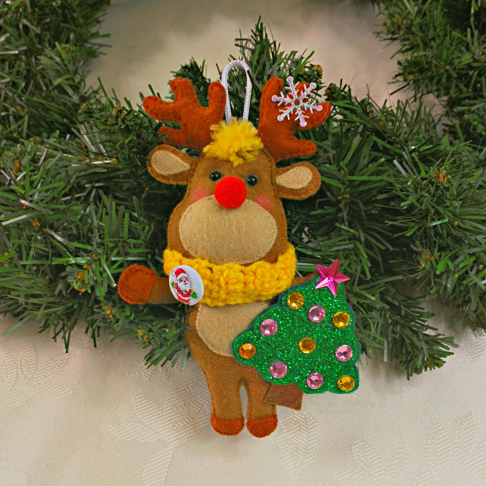 rudolph red nosed reindeer christmas tree decoration - Rudolph Christmas Decorations